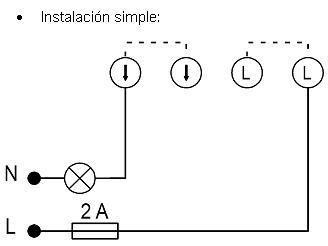 Dinuy Pulsatemp PT EMP 001 Interruptor temporizado empotrar