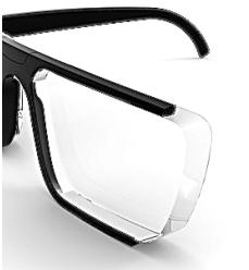 lente estándar con índice 1.5