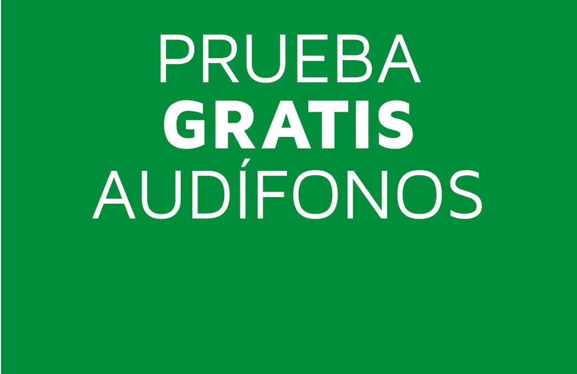 Antes de realizar tu compra, puedes probar unos audífonos de forma totalmente gratuita durante 1 mes sin compromiso.