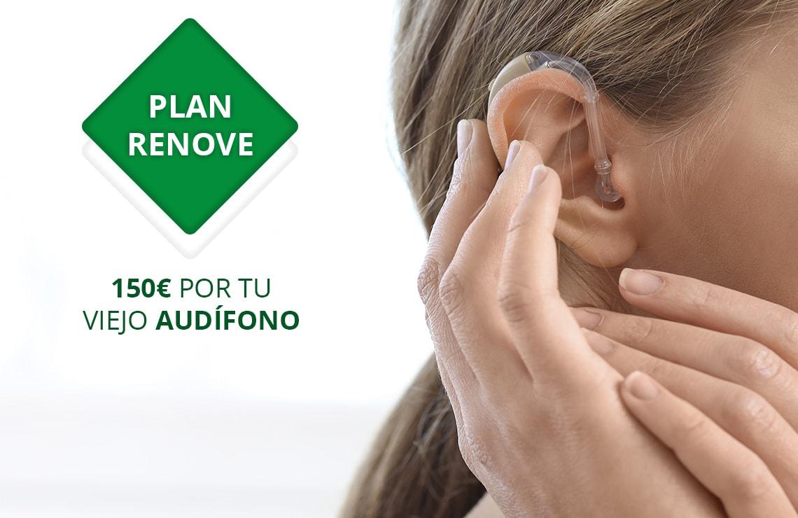 Renueva tu viejo audífono, te regalamos 150 €