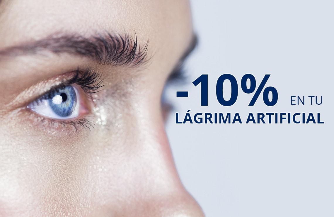 Hidrata tus ojos con un 10% de descuento