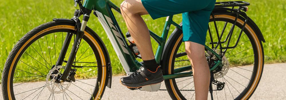 Vélo électrique tout-chemin