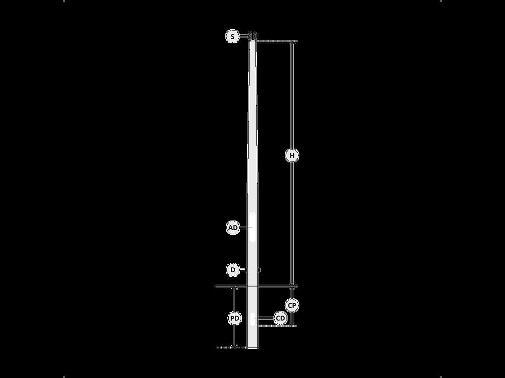 Ø122 mm çap