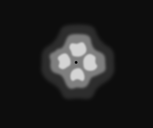 Symmetric, 360°, Special effect: 4 lines
