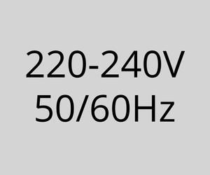 220-240V 50/60Hz