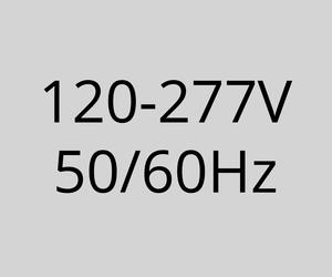 120-277V 50/60Hz