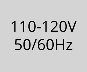 110-120V 50/60Hz