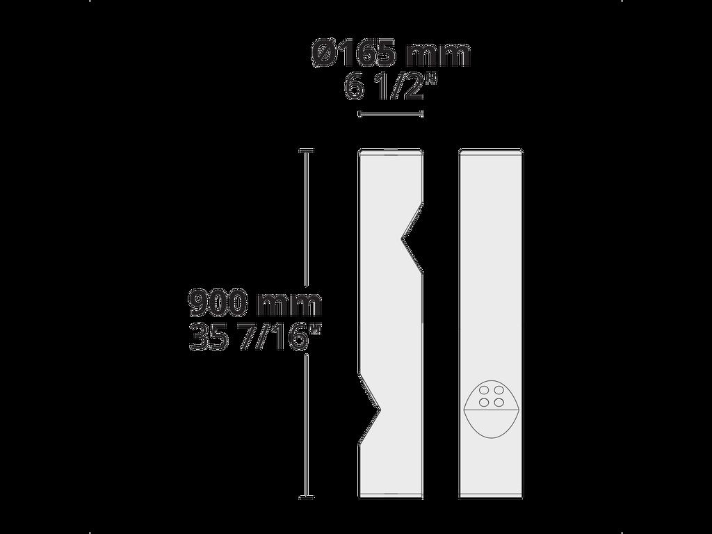 VESTA S L 8 LED