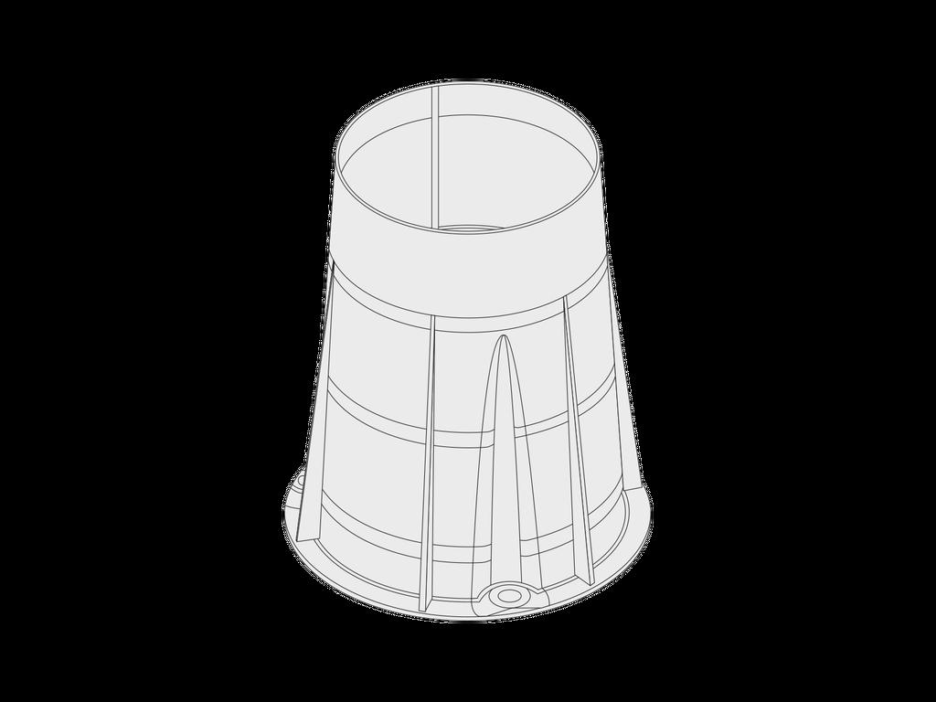 Plastic sleeve for ZEROX