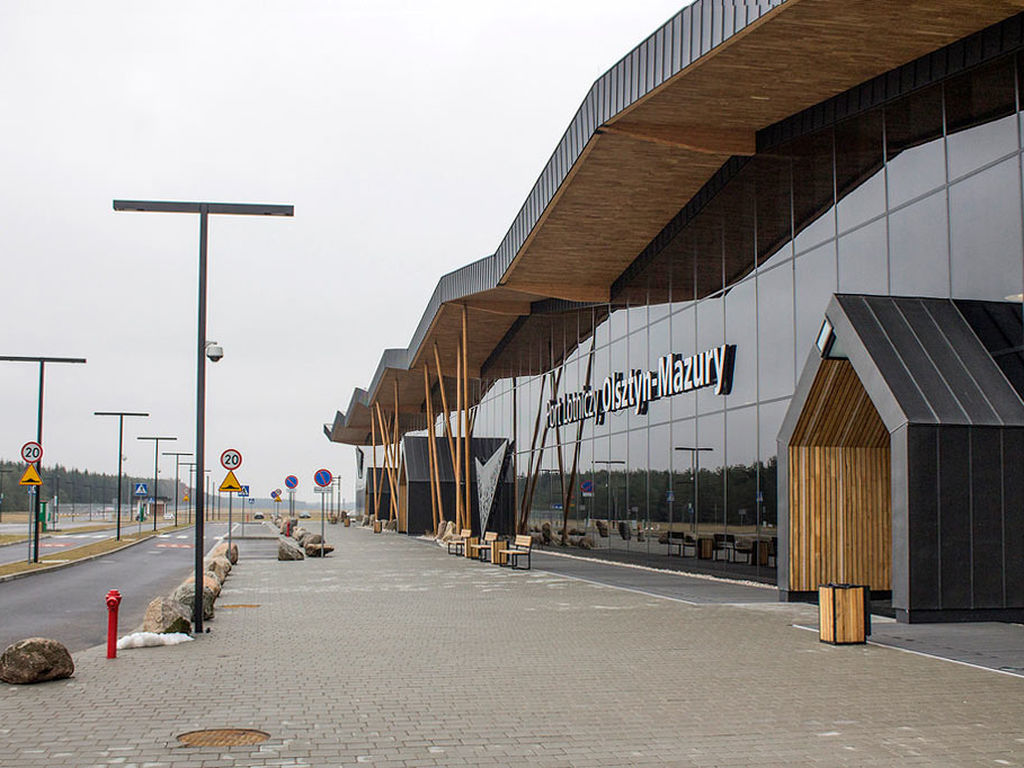 Olsztyn Mazury Havaalanı projesi