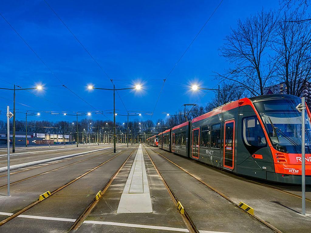 HTM-Haque tren yolu aydınlatma projesi