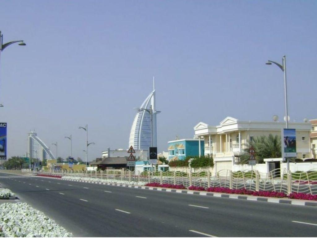 Dubai City  Roads