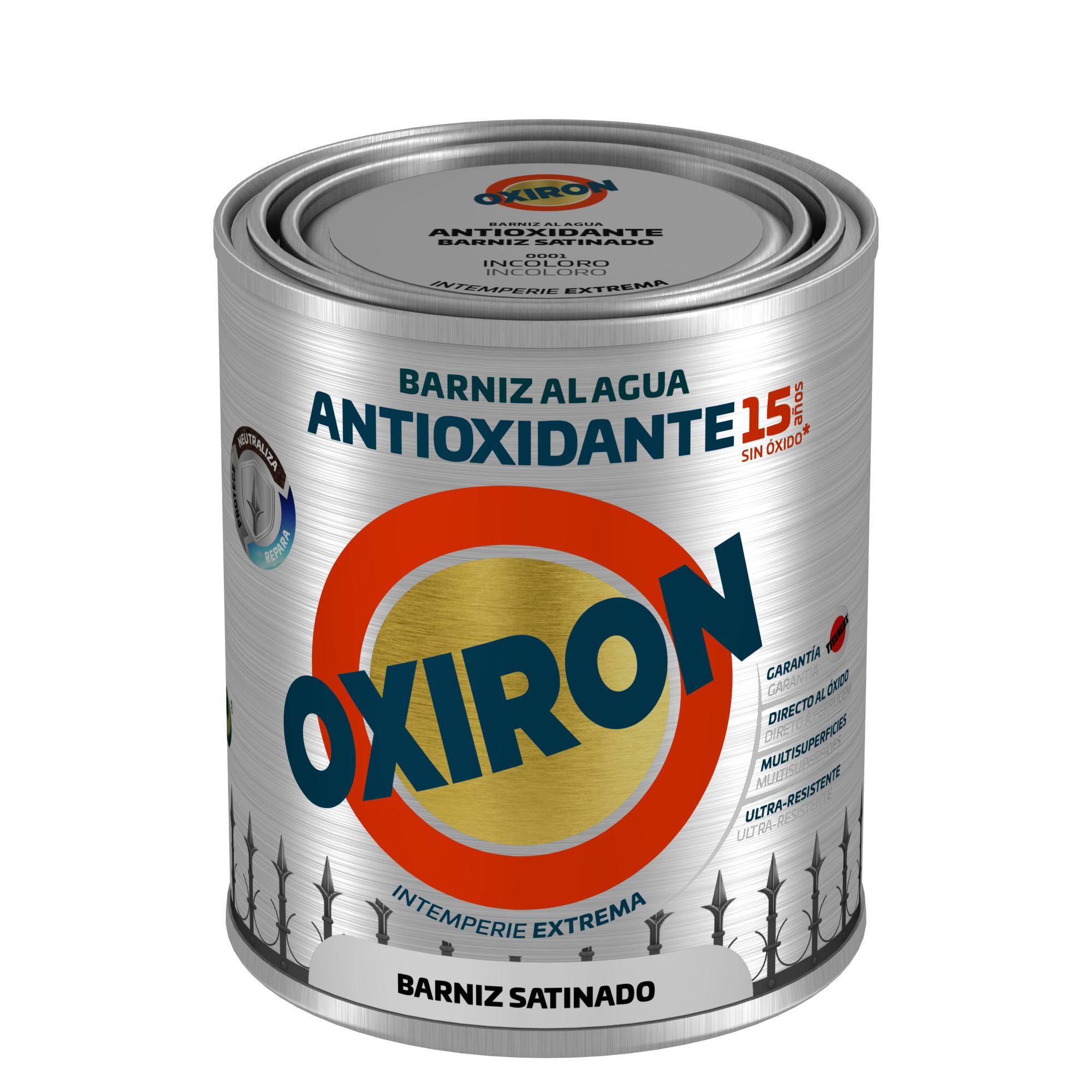 Oxiron Agua Barniz Satinado
