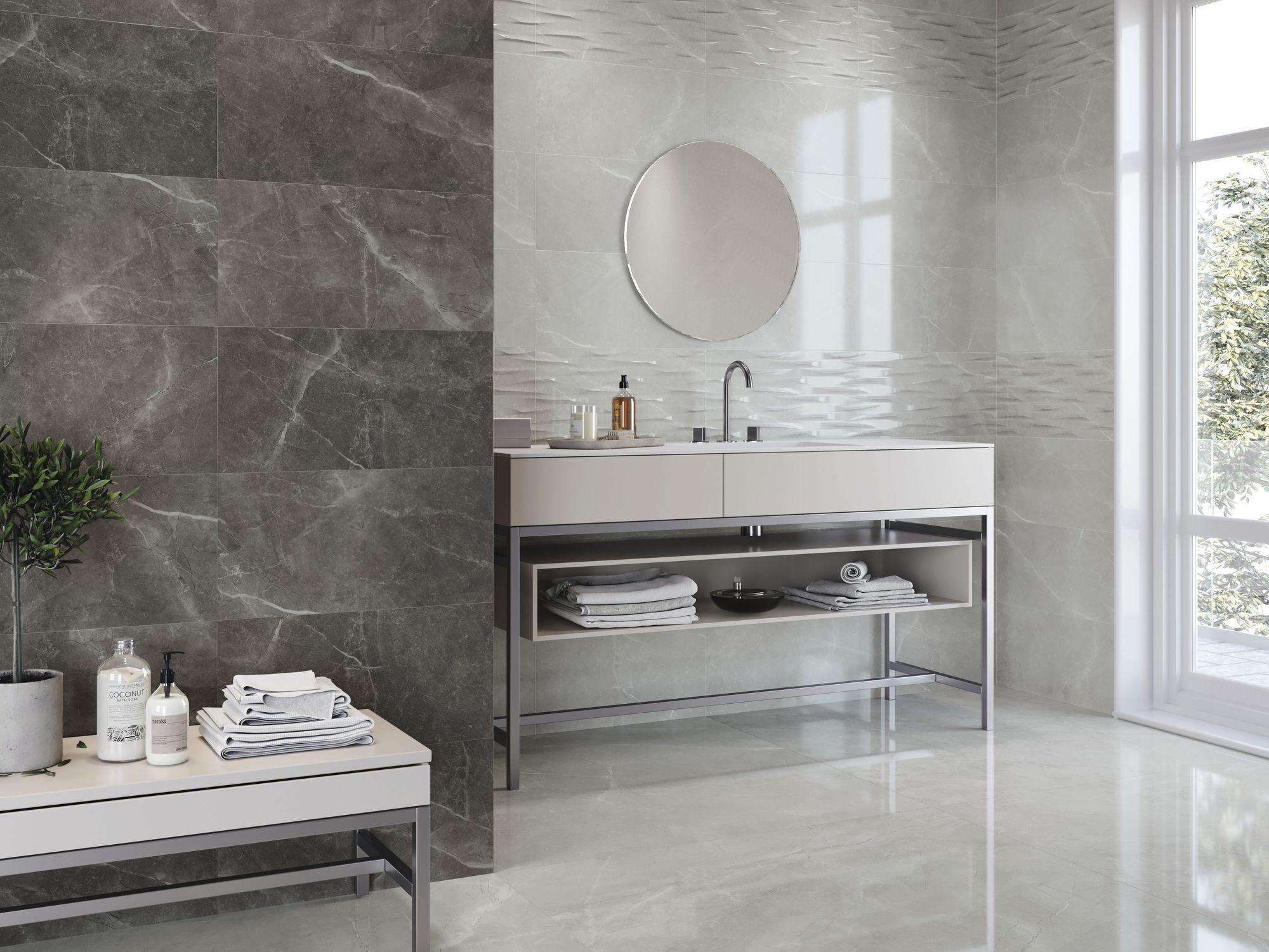 Bayona silver 30x60 cm. Bayona strass silver 30x60 cm. Bayona grey 30x60 cm. Pavimento Bayona silver 60x60 cm.