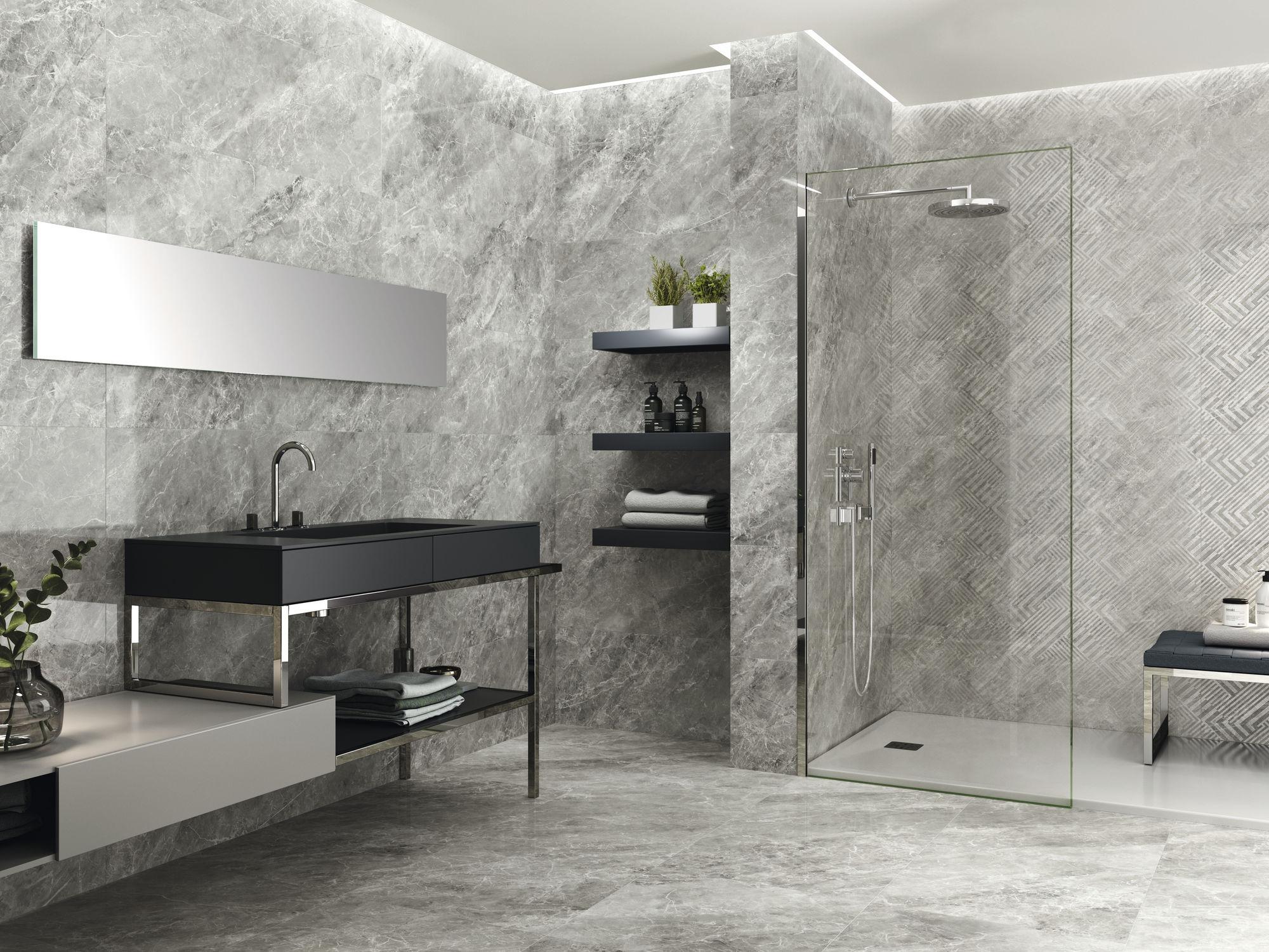 Balmoral Grey 40x120 cm. Naos Balmoral Grey 40x120 cm. Balmoral Grey 60x60 cm.