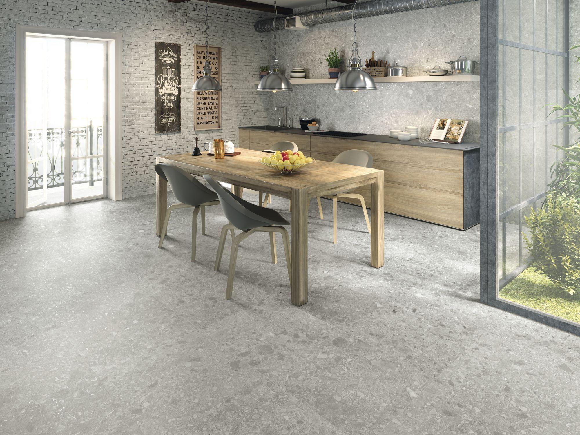 Hannover grey 40x80 cm.
