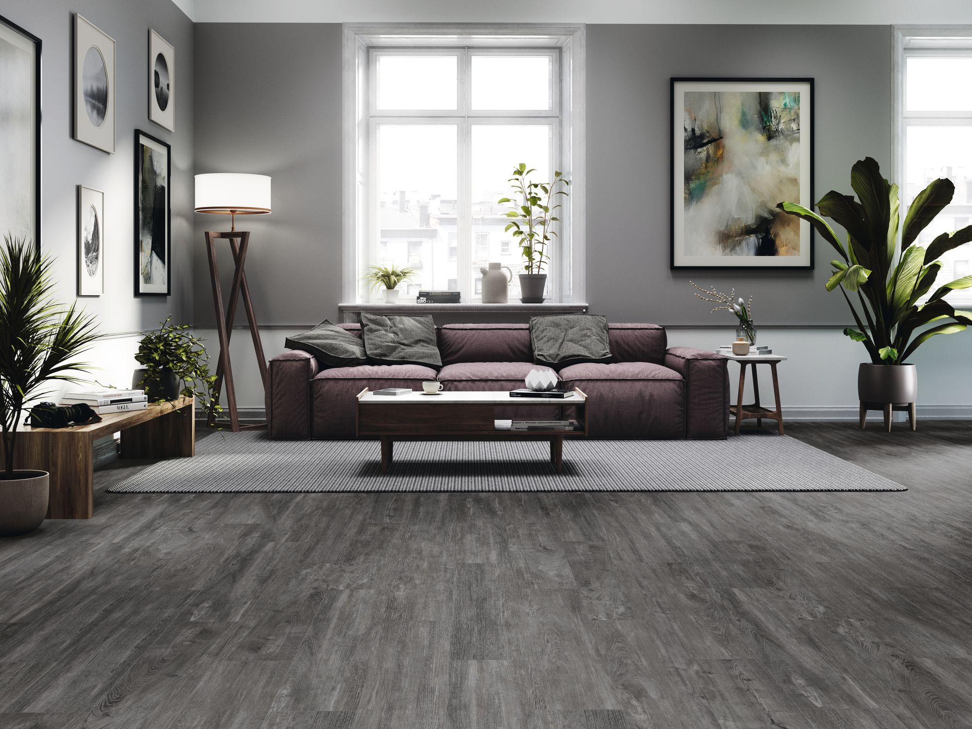 Epping Anthracite 20x110 cm.