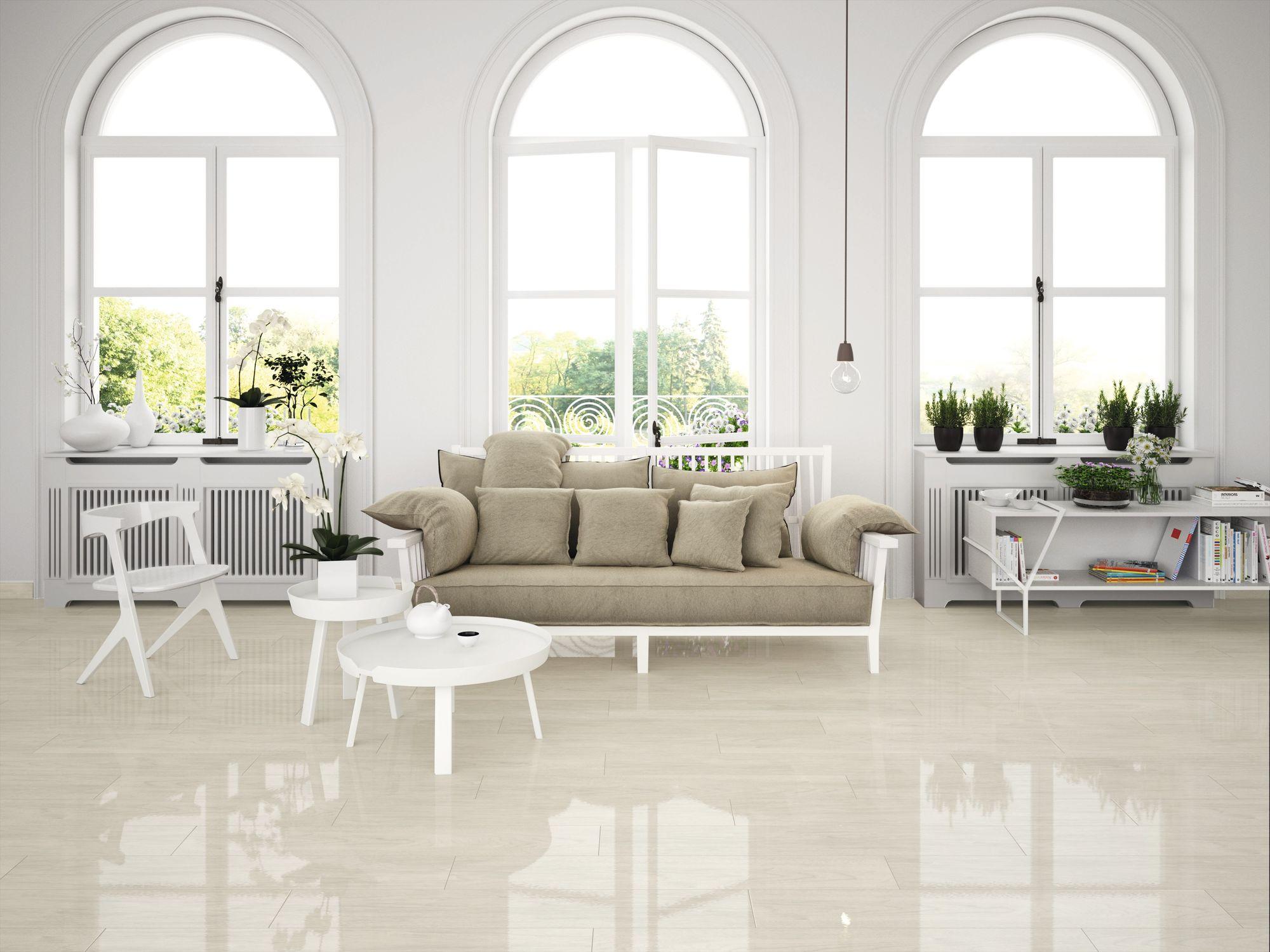Newtron White 20 x 114 cm.
