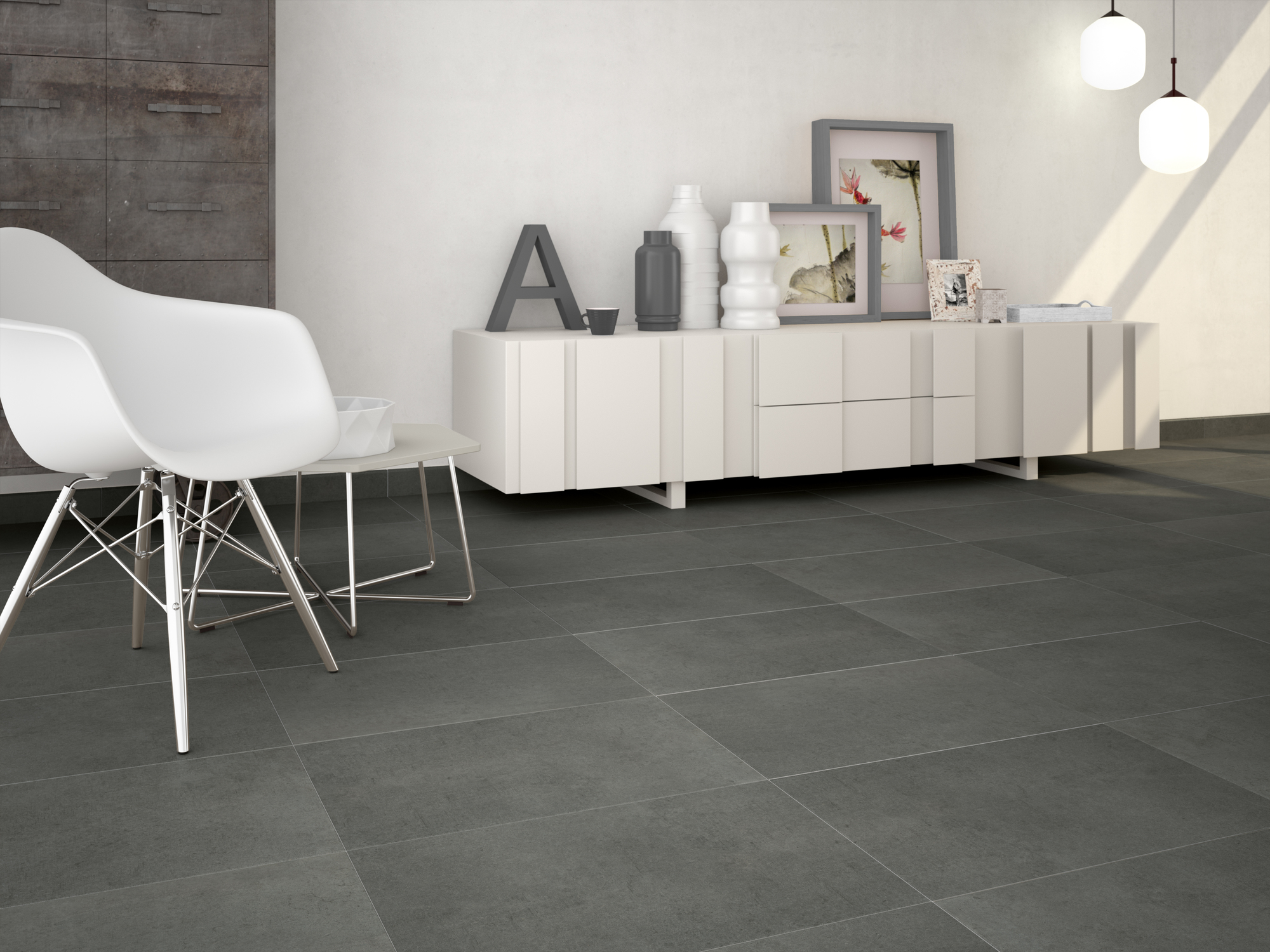 Architonic Grey 40 x 60 cm.