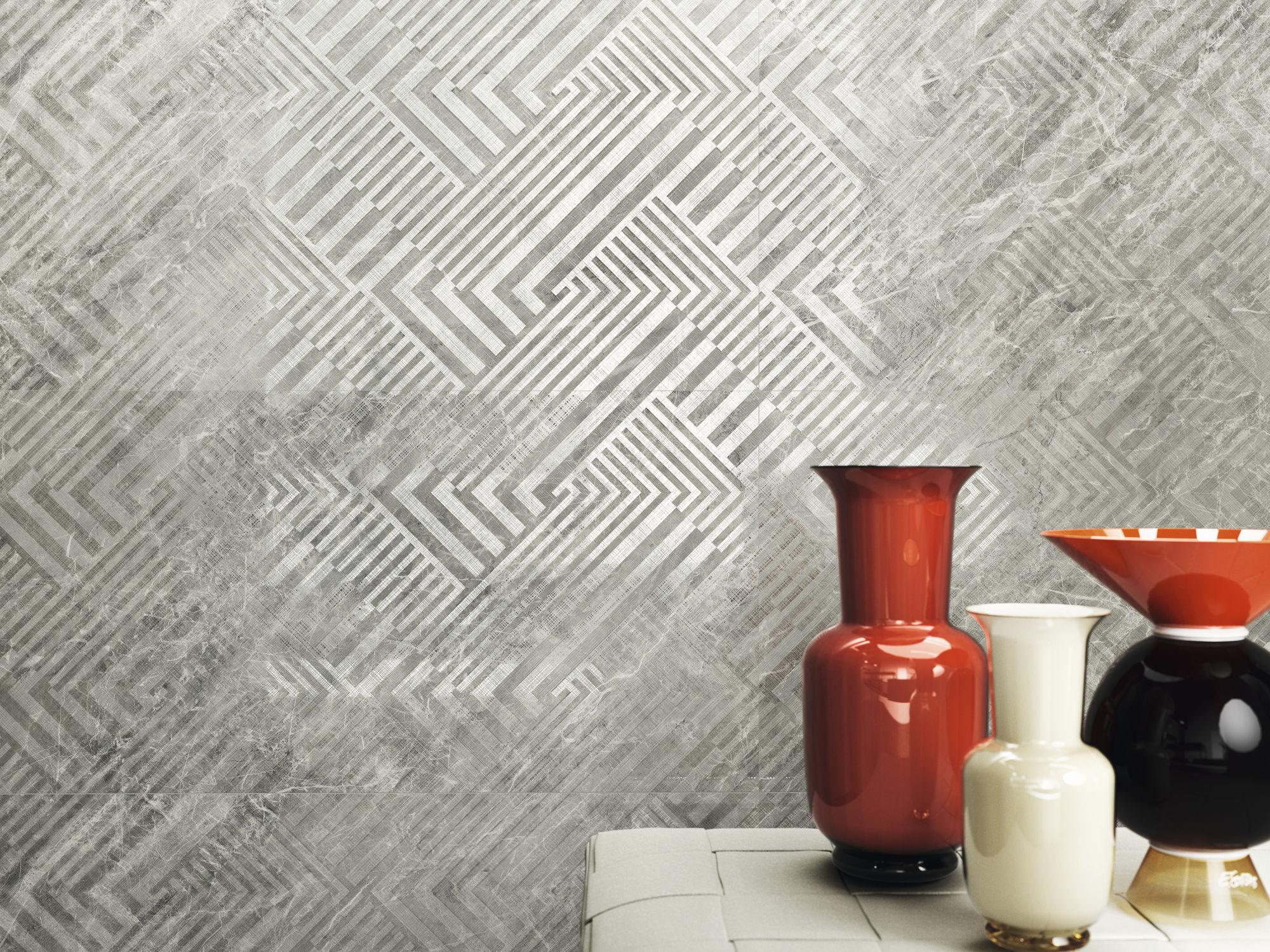 Naos Balmoral Grey 40x120 cm.