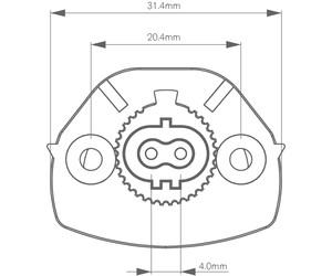 PERFINO V CHILLER 876 3000K CENTRE