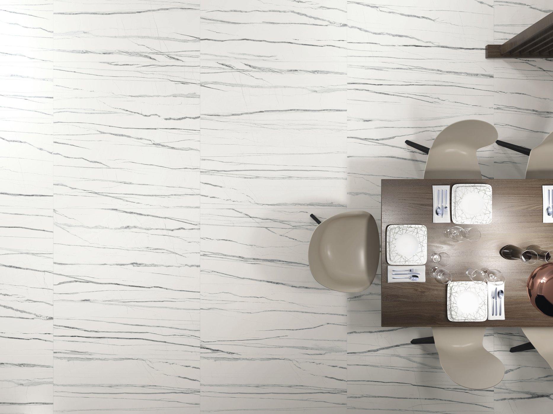 Daren Blanc 120x120 cm.