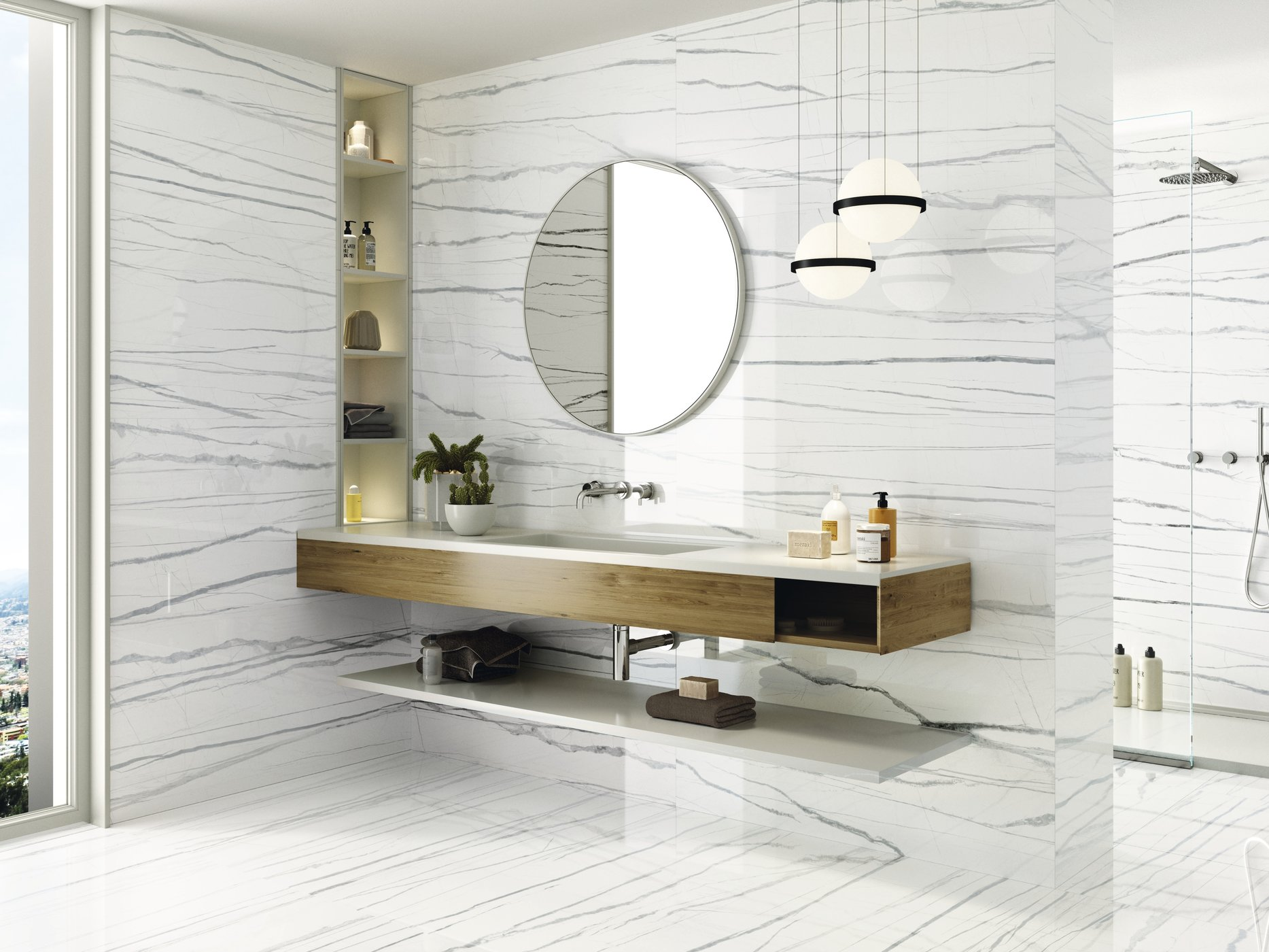 Daren Blanc Pulido 60x120 cm.