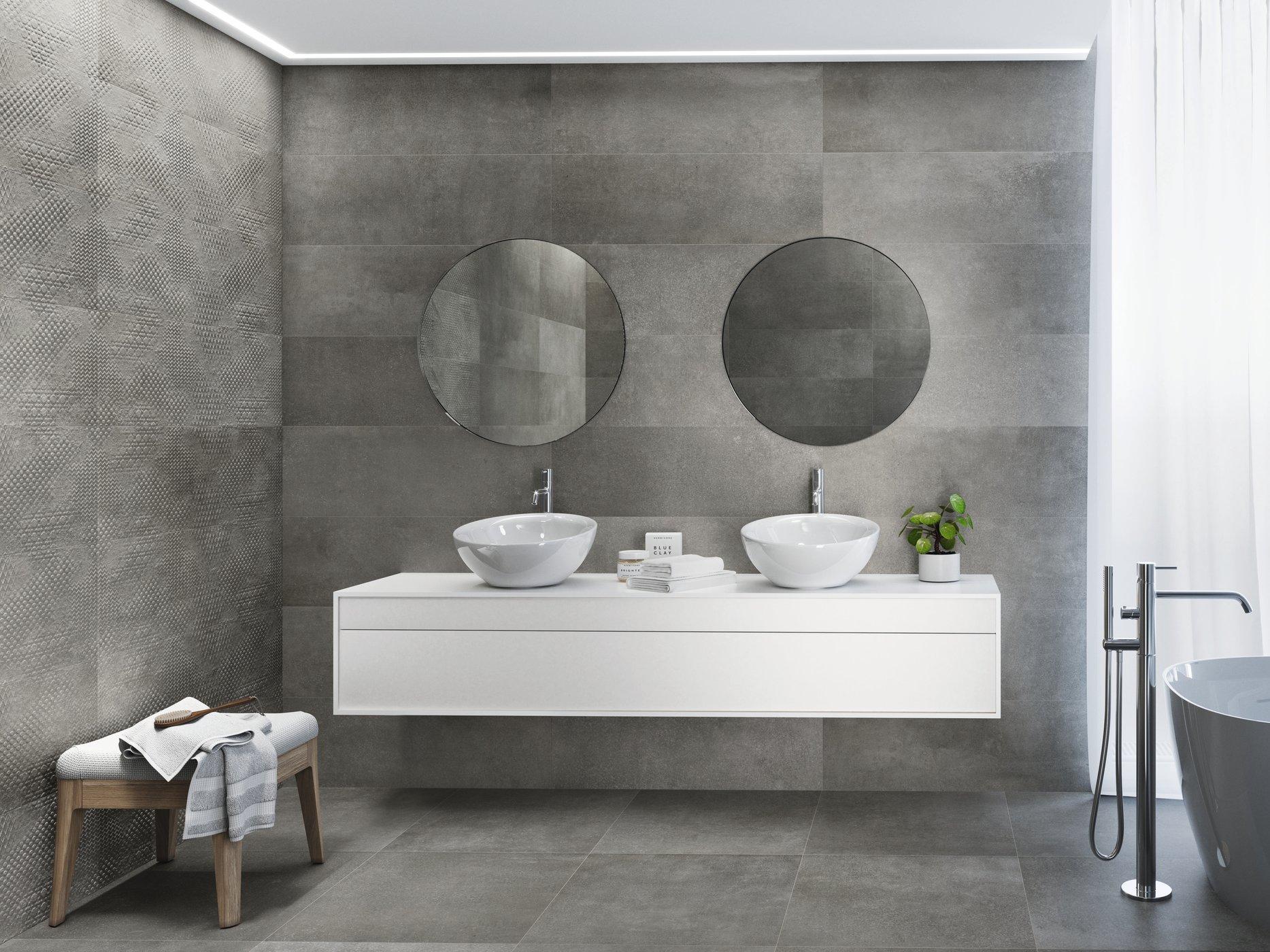 Betonhome grey 30 x90 cm. Magna Betonhome grey 30 x 90 cm. Pavimento Betonhome grey 60 x 60 cm