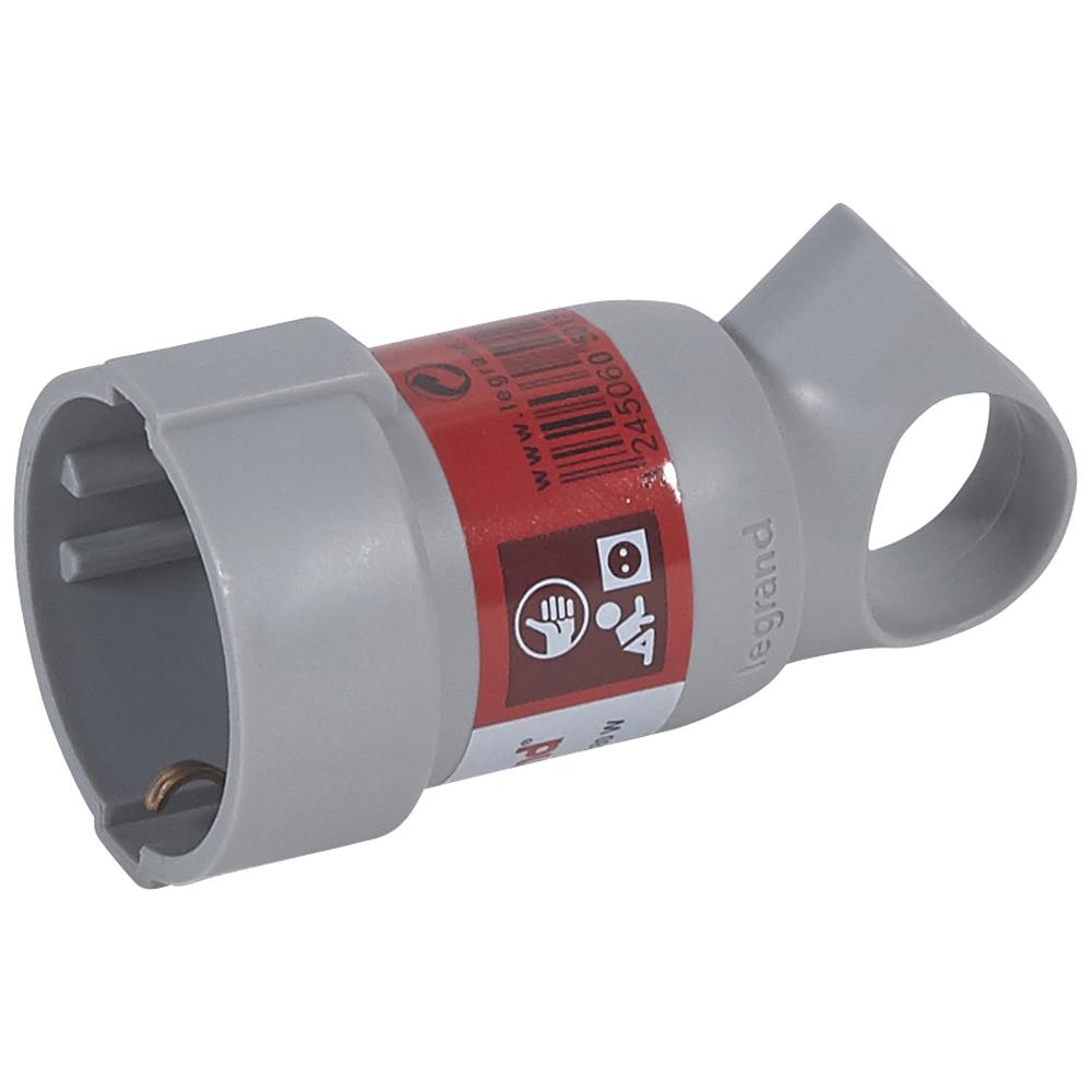 BASES Y CLAVIJAS 2P+T 10/16 A PVC PROFESIONAL