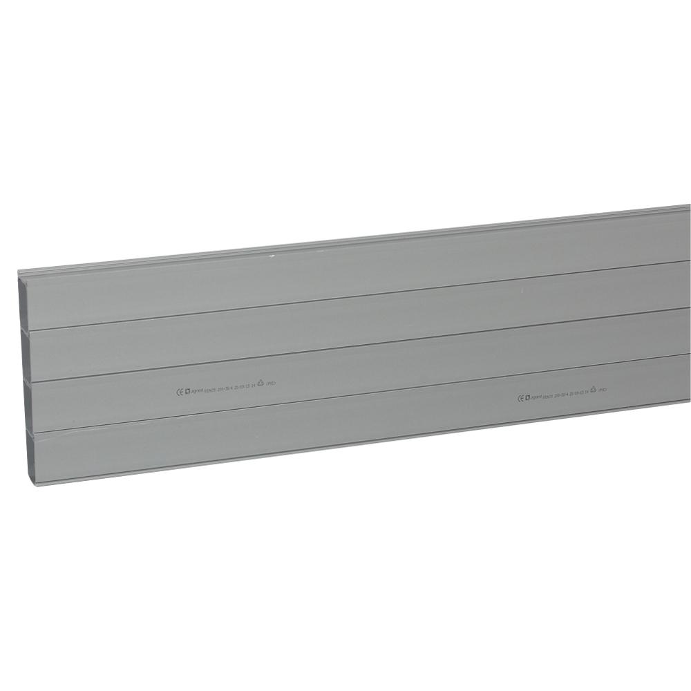 CANAL BAJO PAVIMENTO PVC