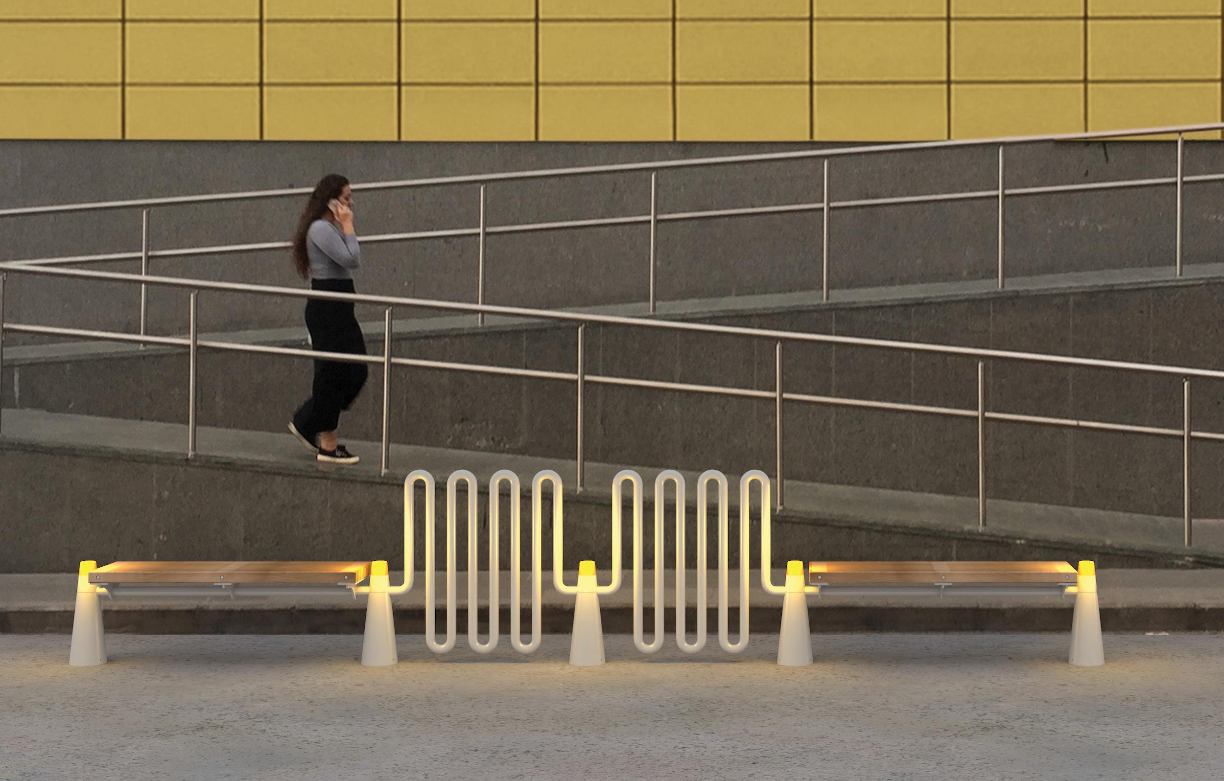 Urban Furniture by Moonlight