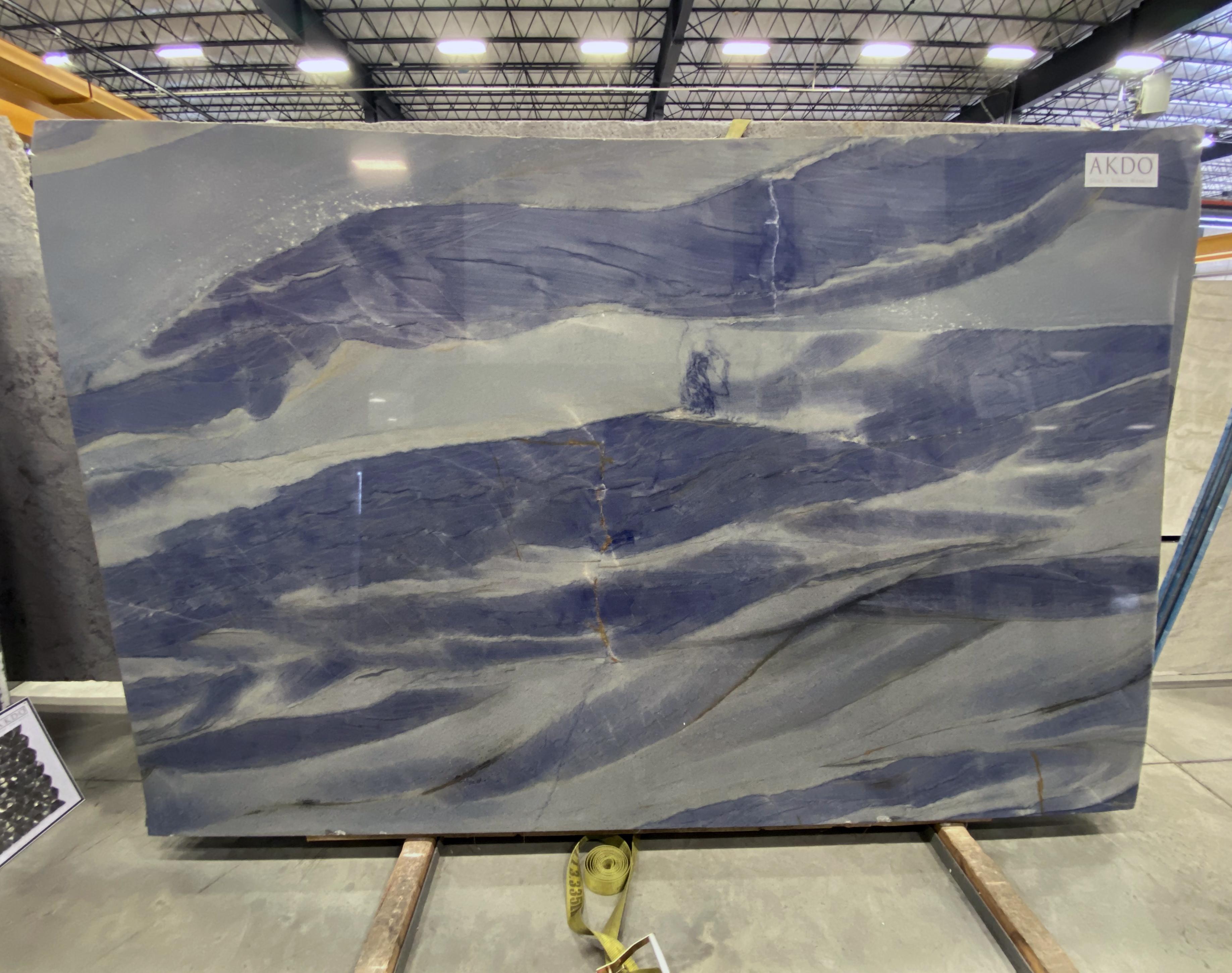 Azul Macaubas Select (P) 1-1/4'' Size: 111'' x  72'' Lot: 13027