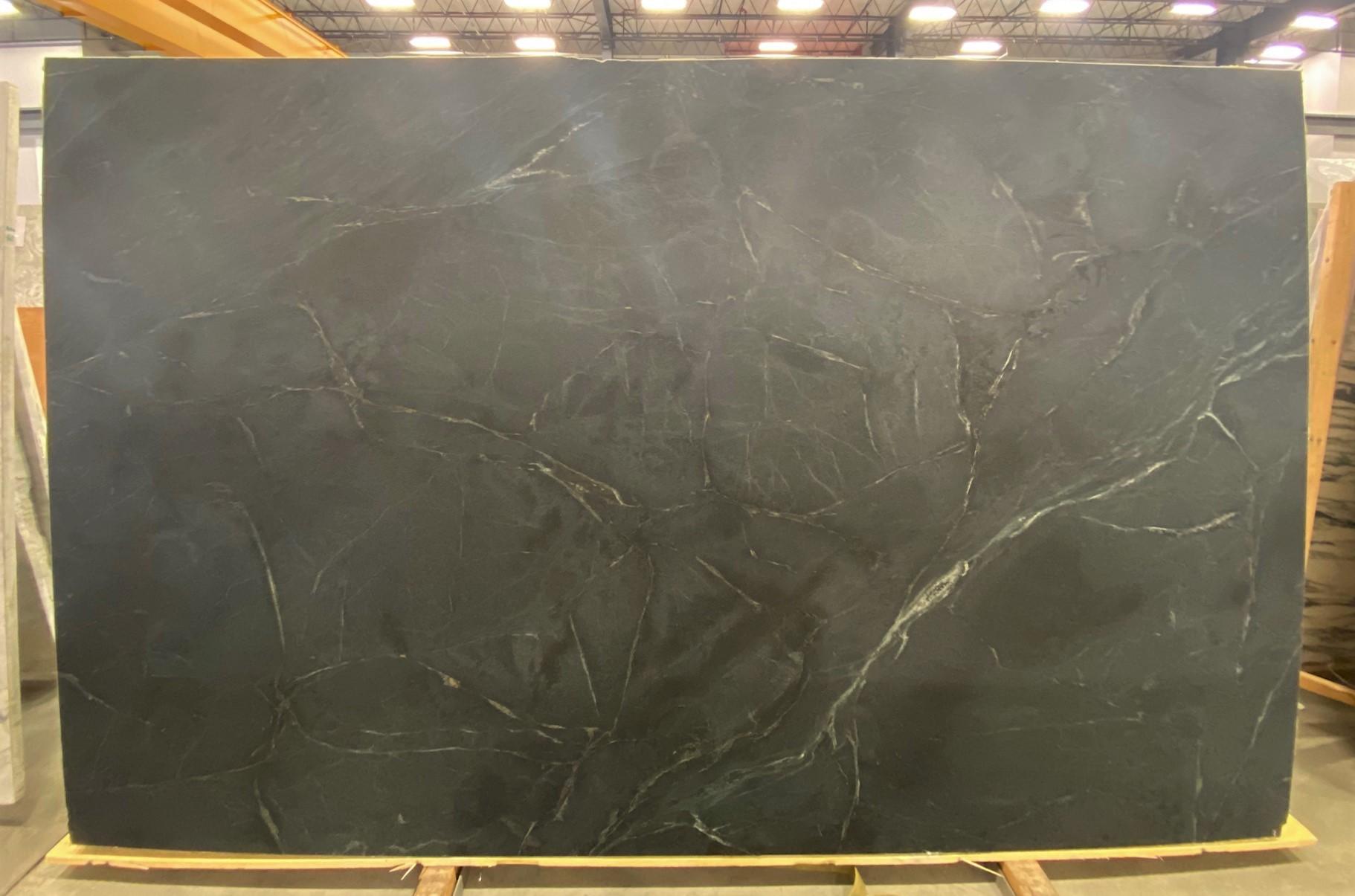 Dark Soapstone (H) 1 1/4'' Size:123'' x 76'' Lot: 21083