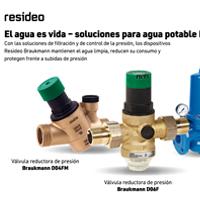 REDUCTORAS DE PRESIÓN RESIDEO BRAUKMANN